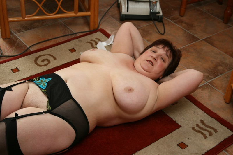 Fat saggy granny strips and masturbates on webcam 6