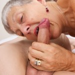 Grandma gets fucked by hot stud