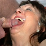 Horny milf loves a fat cock