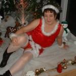 Kinky carol fucks a young guy last christmas