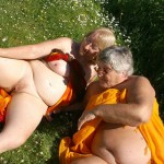 Lesbian fun in the sun ends in multiple orgasms.