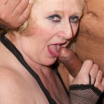 Mature blonde Gilf gets fuck by hot stud