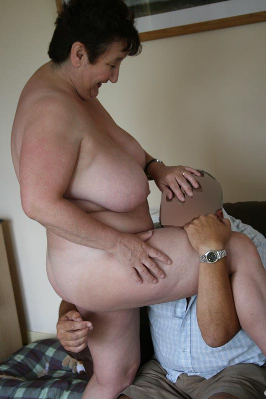 Horny fat bbw friend i met online showing her wet pussy - 2 part 9