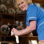 Naughty nurse Claire wants some naughty fun