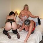 Three hot ladies in lesbian romp